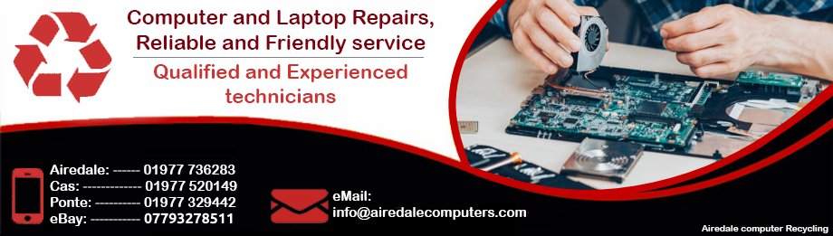 Airedale Computers 01977 736283